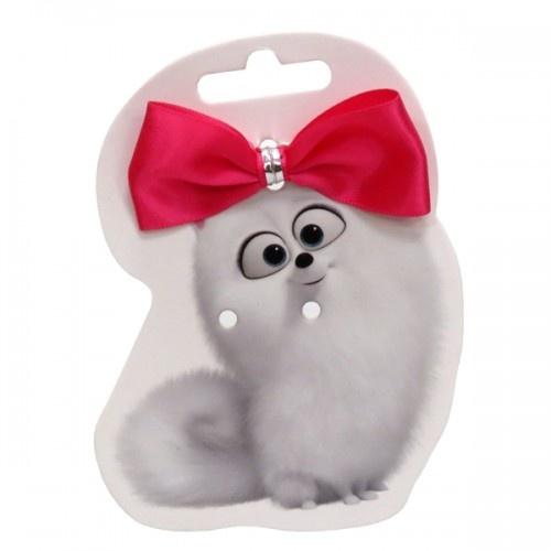 Lazo con goma Gidget para perros color Rosa