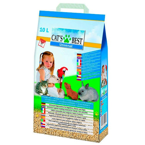 Ecologic litter for all pets