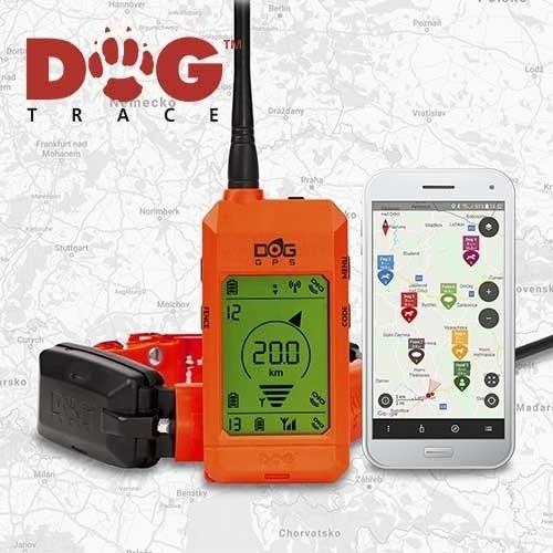 Localizador GPS para perros Dogtrace X30 color Naranja