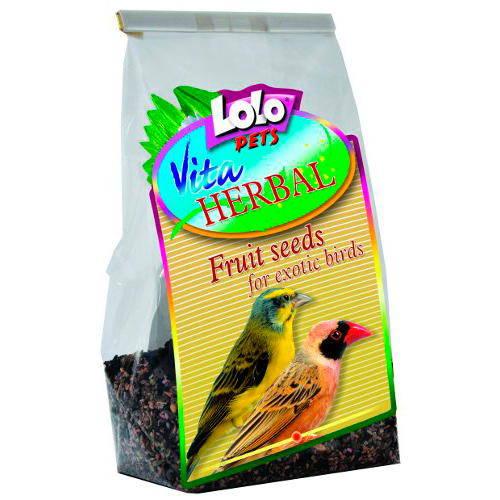 Lolo Pets Vita Herbal Semillas frutales para Exóticos