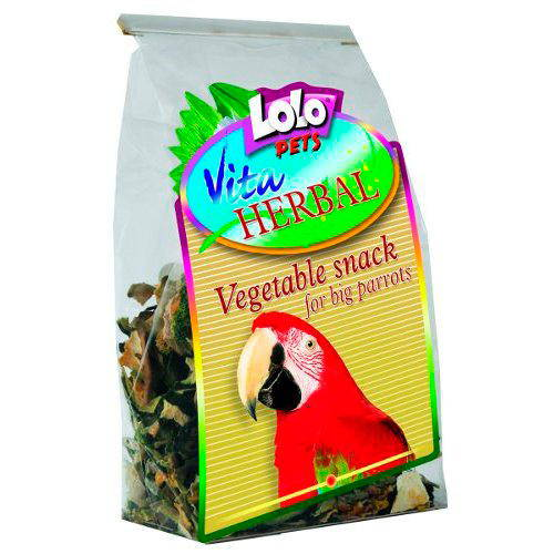 Lolo Pets Vita Herbal Snack Vegetal para Loros