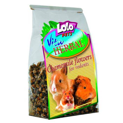 Lolo Pets Vita Herbal Flores de Camomila Roedores