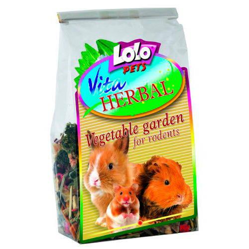 Lolo Pets Vita Herbal Jardín Vegetal Roedores