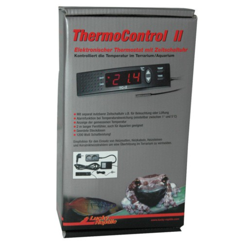 Lucky reptile Thermo control II Electronic thermostat with timer