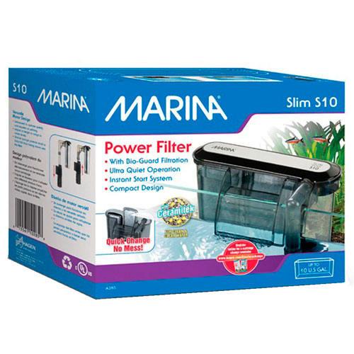 Marina Slim Filtro externo ultracompacto para acuarios
