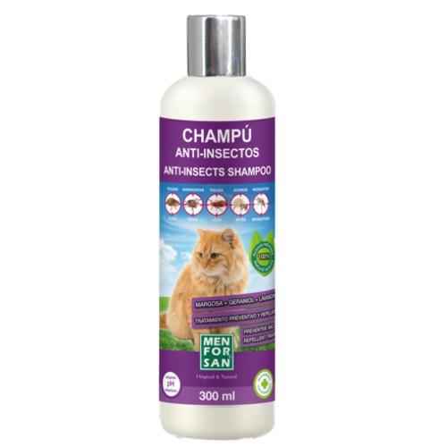 Menforsan champú anti insectos para gatos