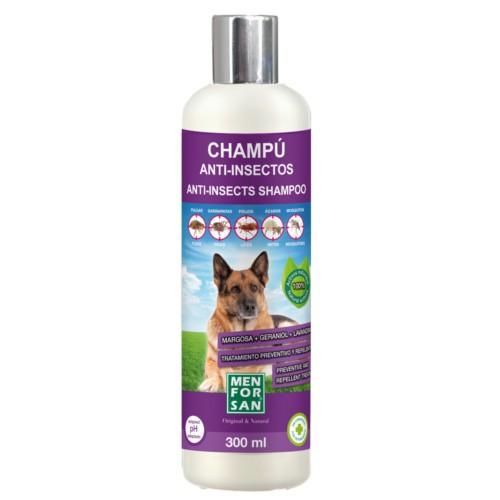 Menforsan champú anti insectos para perros