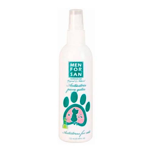 Spray tranquilizante anti-estrés para gatos