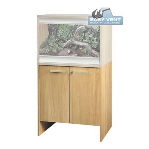 Mesa de madera para Terrarios Vivexotic Color Roble
