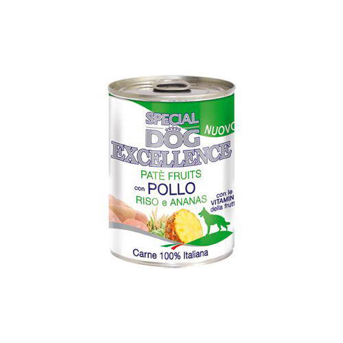 Special Dog Excellence Paté con frutas para perros Pollo piña