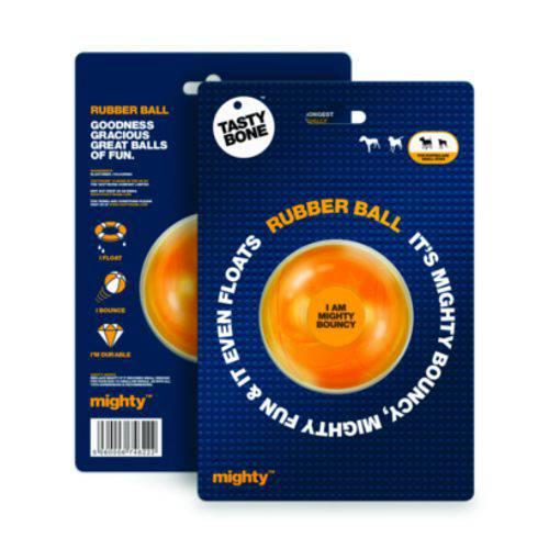 Mordedor para perros TastyBone Rubber Ball pelota de goma súper resistente