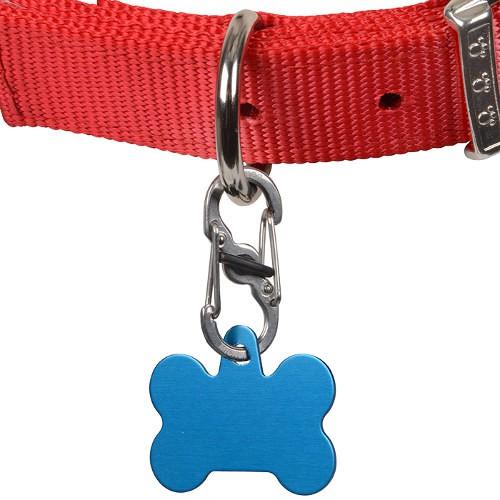 Mosquetón para perros y gatos TagLock con cierre de seguridad
