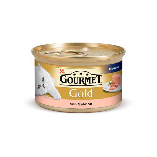 Gourmet mousse de salmón para gatos