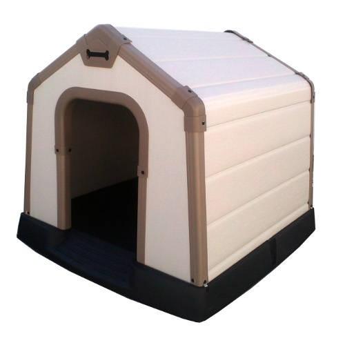 Caseta para perros Sparky con doble panel protector