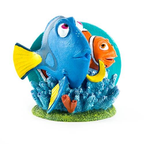 Figura Dori y Marlin adorno acuarios