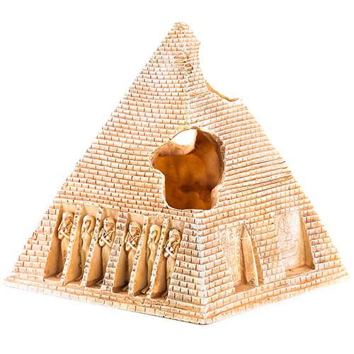 Pirámide egipcia decoración para acuarios