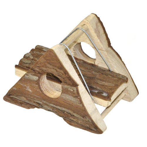 Juguete para roedores Rocker de madera