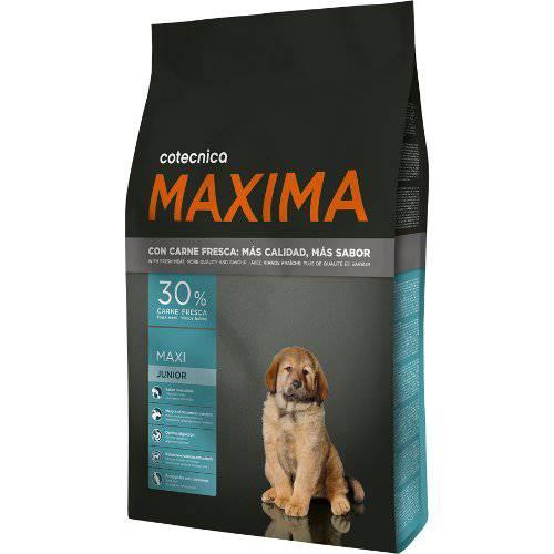 Pienso Cotecnica Maxima Maxi Junior para cachorros razas grandes