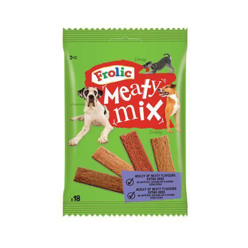 Snack para perros Frolic tiras de carne