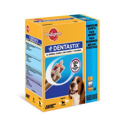 Snack para perros medianos Pedigree Dentastix multipack