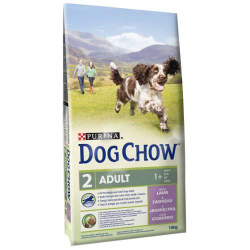 Pienso para perros Dog Chow Adult con cordero