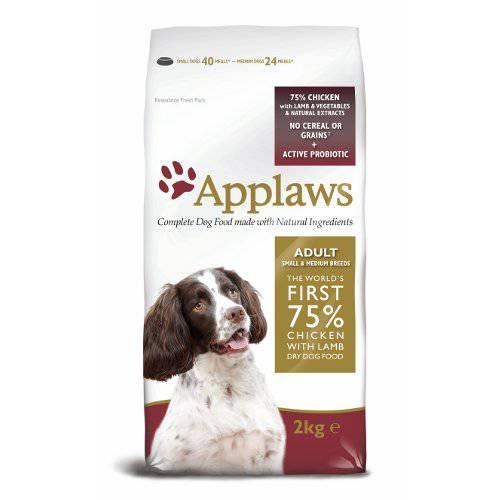 Applaws Adult pienso para perros pequeños y medianos con pollo y cordero