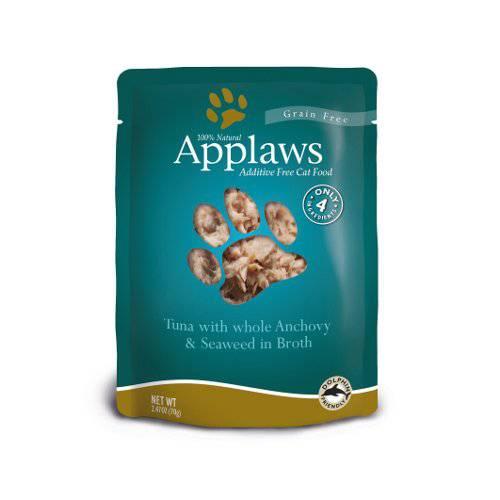 Comida húmeda para gatos Applaws Pouch con sabor a atún y anchoa
