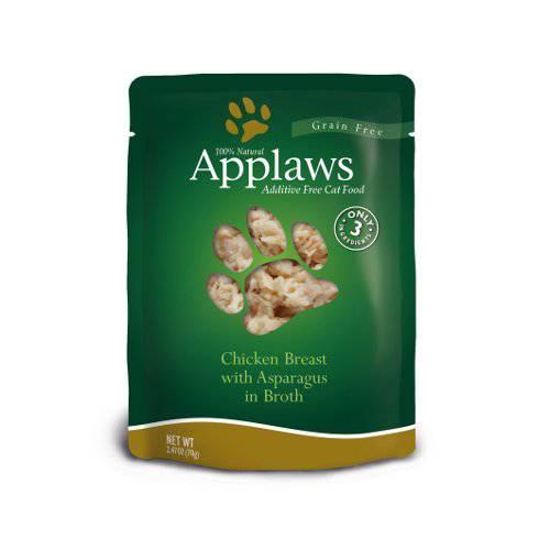 Comida húmeda para gatos Applaws Pouch pollo y espárragos