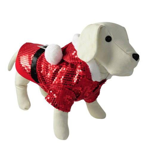 Disfraz para perros Santa Claus fiesta