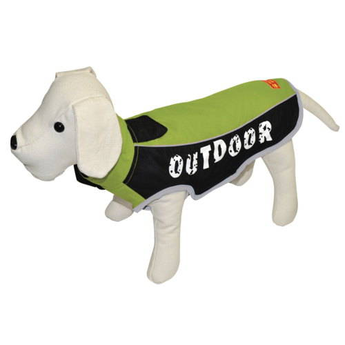 Chaqueta impermeable para perros outdoor color pistacho