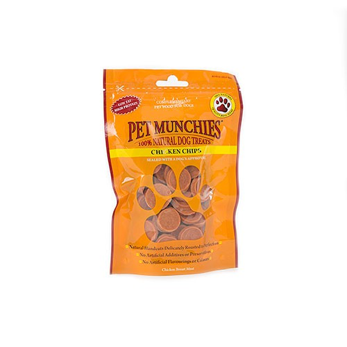 Snacks para perros Pet Munchies Chicken Chips rodajitas de pollo
