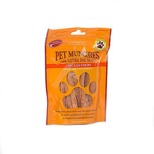 Snacks para perros Pet Munchies Chicken Strips tiritas de pollo