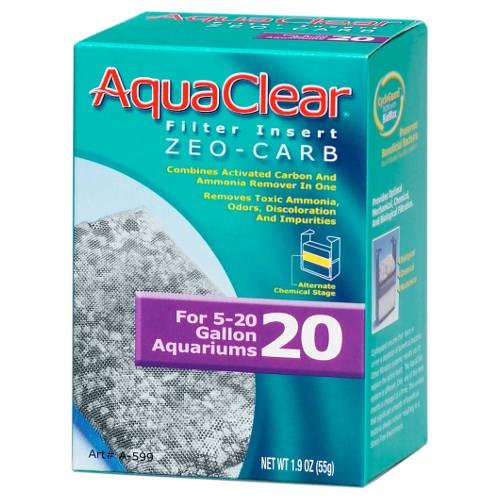 Carga Zeo-Carb para Filtro Mochila AquaClear