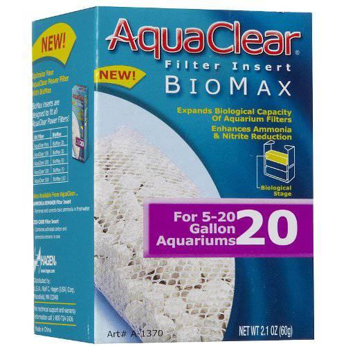 Carga Filtrante Biomax para Filtro Mochila AquaClear