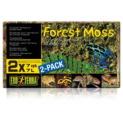 Sustrato tropical Forest Moss de Exo Terra