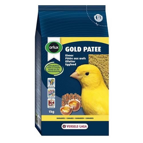 Pasta para pájaros amarilla Gold Patee