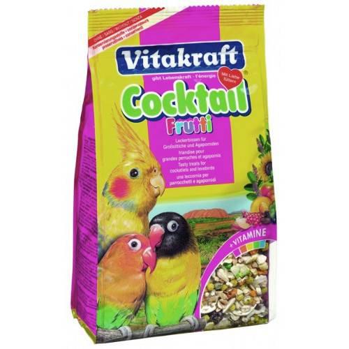 Vitakraft Cocktel de frutas para agapornis y cotorras