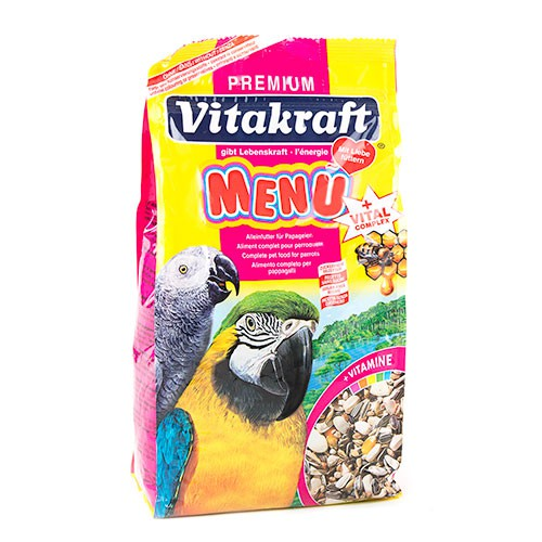 Vitakraft Menu Premium para loros