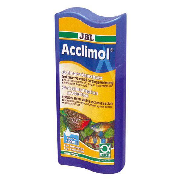 Tranquilizante vitalizante para peces Acclimol