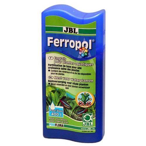 Fertilizante con hierro para plantas acuaticas Ferropol