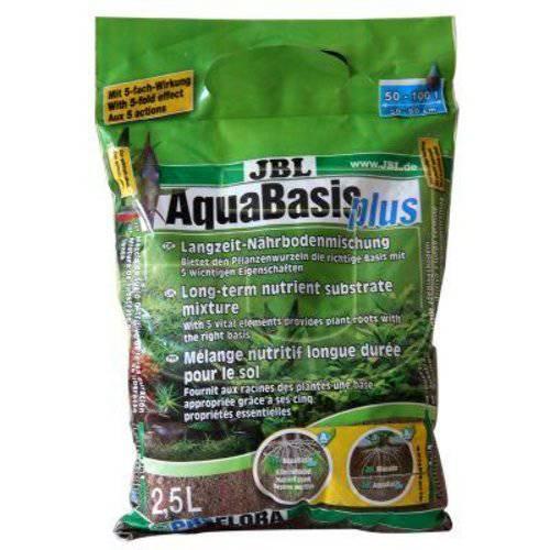 Sustrato para nuevos acuarios Aquabasis Plus