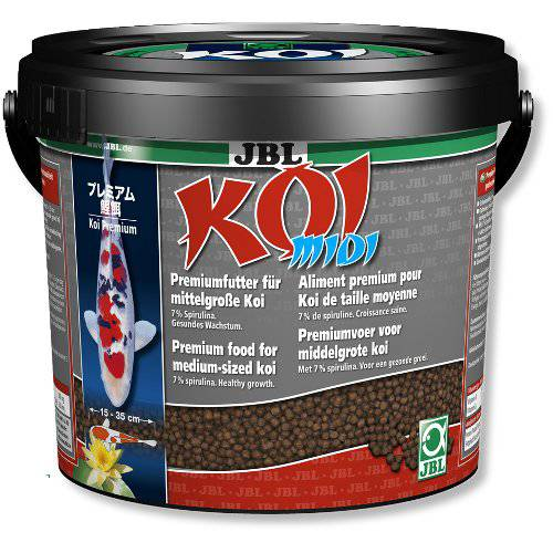 alimento para peces koi y dorados koi midi gr nulo mediano