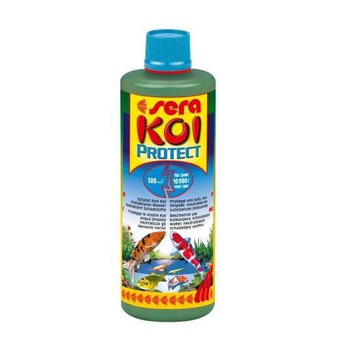 SERA Koi Protect Acondiconador de agua y protector de mucosas