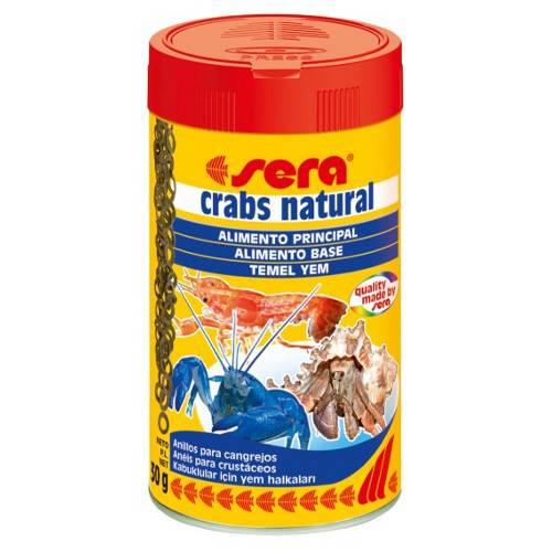 SERA Crabs natural Alimento para gambas y cangrejos