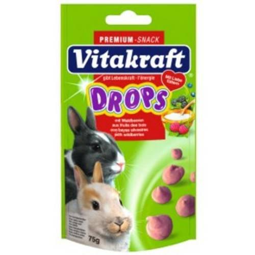 Drops con frutas del bosque para conejos enanos Vitakraft