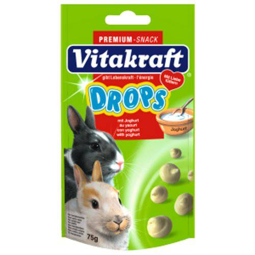 Drops con yogurt para conejos enanos Vitakraft
