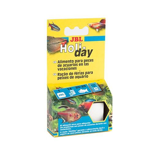 JBL Holiday Bloque de alimento para peces Especial Vacaciones