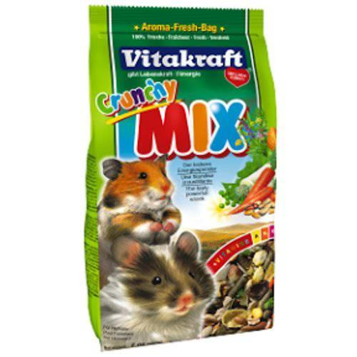 Crunchy Mix para hámsters Vitakraft 200gr