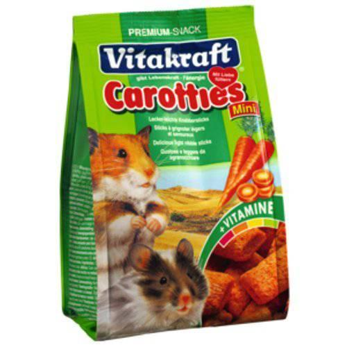Carotties bastoncillos para hámsters de zanahoria Vitakraft
