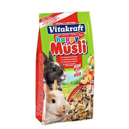 Vitakraft Happy musli para conejos enanos 200gr